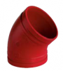 ATUSA alkūnė 45* su antikorozine danga RED