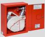Priešgaisrinės spintelės komplektas - su žarna, ventiliu ir švirkštu GRAS (Lenkija)