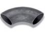 Alkūnė 90* - plieninė (juodo plieno), besiūlė EN10253-1 (DIN2605) plienas P235TR2 - S235 (R.St.37.0)