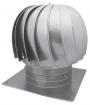 WD-A-Turbo-K vėjo turbina su kvadratiniu flanšu (aliumininė)