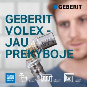 Geberit Volex plakatas