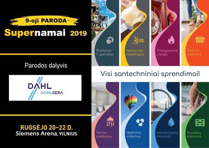 Supernamai 2019 | Rugsėjo 20-22 d. Siemens Arena, Vilnius